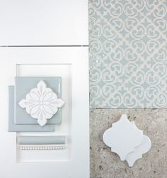 Find inspiration for your next kitchen project! We've put together some of our favorite tile, cabinets and countertops to give you some ideas. With any major home renovation project, the decisions are endless. We'll help you narrow down the field Bathroom Renovations, Home Renovation, Home Remodeling, Kitchen Remodeling, Cottage Renovation, Kitchen Tiles Design, Tile Design, Pop Design, Kitchen Layout