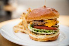 double decker turkey burger