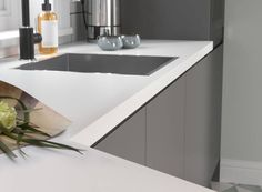 View our J Pull Kitchen in Lava - Create the fitted kitchen of your dreams with Wren Kitchens. Small Space Kitchen, Kitchen Units, Kitchen Ideas, Wren Kitchen, Steps Design, Design Your Kitchen, Kitchen Installation, Stainless Steel Kitchen, Kitchen Furniture