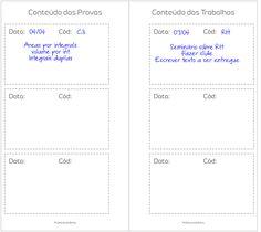 Planner de estudos em português - study planner -