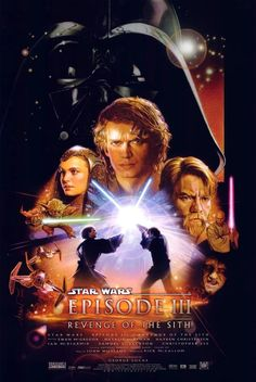 Star Wars: Episode III - Revenge of the Sith.  The dramatic and heartbreaking ending of the trilogy in which Anakin Skywalker is turn to the Dark Side and becomes Darth Vader.  #movies