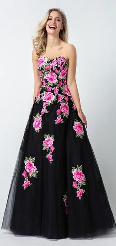 Black Sweetheart Flower Appliques Long A Line Tulle Prom Dresses Sleeveless Prom Dress, A-Line Prom Dress, Black Prom Dress, Prom Dresses, Prom Dress With Appliques Prom Dresses 2020 Gold Prom Dresses, Plus Size Prom Dresses, Prom Dresses For Sale, A Line Prom Dresses, Tulle Prom Dress, Prom Dresses Online, Ball Dresses, Homecoming Dresses, Sleeveless Dresses