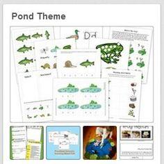 Pond Theme Printables and More!