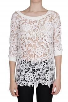 SO ALLURE - SWEATER - 230965 - WHITE - 144€ - http://www.commetoi.it/eshop/index.php?id_lang=8