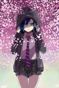 Anime Girls, Manga Girl, Anime Art Girl, Girl Blue Hair, Manga Anime, Photo Manga, Tamako Love Story, Zero Two, Image Manga