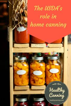 In the home canning world, the USDA (United States Department of Agriculture) plays a dominant role. An article exploring their work and the history, so you can understand better their importance.