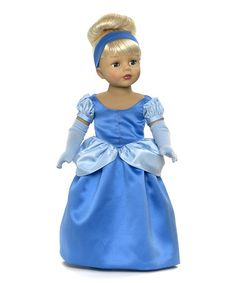"Madame Alexander Cinderella. Her outfit fits other 18"" dolls including #americangirl"