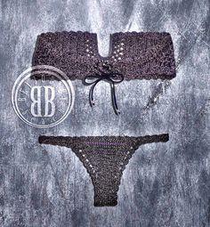 Anna steel bikini by beijobaby on Etsy