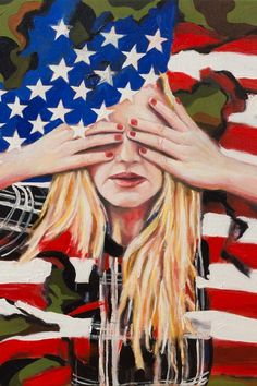 Annika Connor - American Angst - - The Untitled Space - Uprise ANGRY WOMEN EXHIBIT