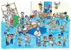 praatplaat dansen en bewegen Hidden Words In Pictures, Hidden Images, School Sports, I School, Wheres Wally, Picture Writing Prompts, I Spy, Toddler Preschool, Speech Therapy