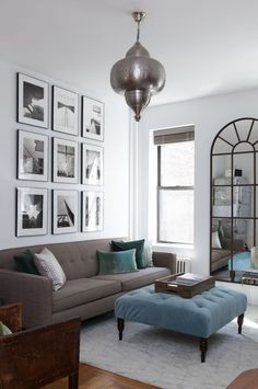 8 steps to creating a stylish gallery wall
