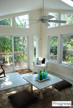 I want to enclose my existing patio & make Sun Room like this!!!