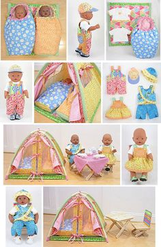 Wollyonline sells digital doll patterns for a variety of dolls. Doll Sewing Patterns, Sewing Dolls, Ag Dolls, Doll Clothes Patterns, Baby Patterns, Girl Dolls, Baby Born Clothes, Bitty Baby Clothes, Trendy Baby Boy Clothes
