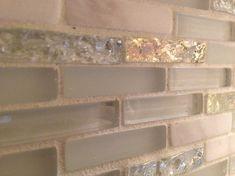 Glass & Marble Backsplash - modern - kitchen tile - boston - Fowler Tile Design