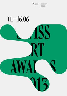 Ludovic Balland – Dynamic identity system for the Swiss Art Awards
