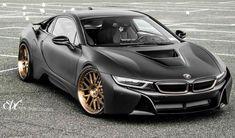 Tunée, une BMW i8 peut vraiment avoir de la gueule !