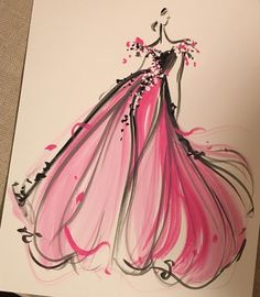 'Sketch of the Day' by ChristianSiriano.com| Be Inspirational ❥|Mz. Manerz: Being well dressed is a beautiful form of confidence, happiness & politeness