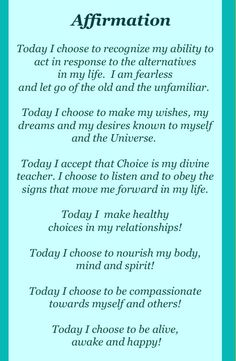 Trace About 10 yrs ago.... this changed my life. I read it every morning while doing my hair. Print this off and put in bathroom