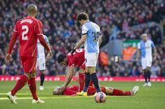 Tieso quedóMartin Skrtel, guapeando a favor del Liverpool FC.