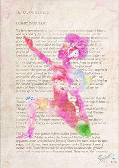 The Seventh Lesson Yoga book art print wall decor от Pranatheory, $16.00