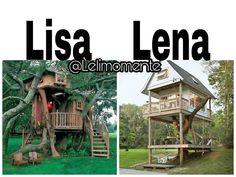 Pour moi c est Lisaaa