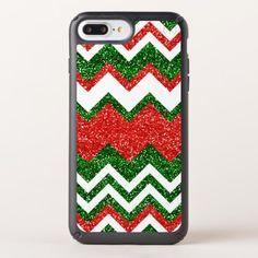 Retro Chic Red Green Zigzag Chevron Stripe Pattern Speck iPhone Case - stripes gifts cyo unique style
