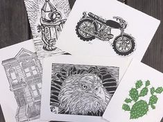 Relief Printmaking - Tuesday August 9th & August 16th
