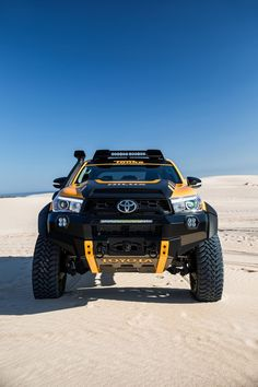 Toyota fans are going to appreciate the Toyota Hilux Tonka. the Toyota Hilux Tonka is a perfect Toyota Hilux, Toyota Autos, Toyota 4x4, Toyota Trucks, Toyota Cars, Toyota Tundra, 4x4 Trucks, Custom Trucks, Custom Cars