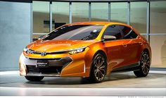 Behold the Toyota Corolla Furia concept, first seen in Detroit back in January.  It offers some insight into what the new Corolla will look like when it's revealed in June.
