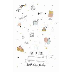 INVITATION ANNIVERSAIRE FILLE