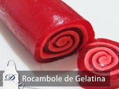 Coisas que Gosto: Rocambole de Gelatina com Marshmallow