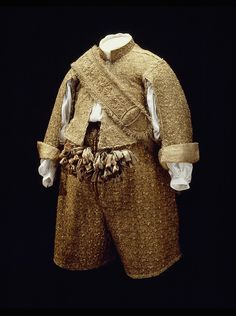 Ensemble Worn by Charles X Gustav of Sweden 1654 Royal Armory