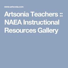 Artsonia Teachers :: NAEA Instructional Resources Gallery