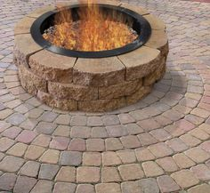 Himalayan Salt Lamp Menards : Fire pits, Fire and Rustic fire pits on Pinterest