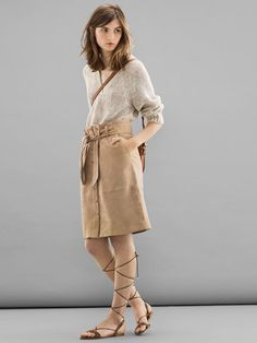 FALDA ANTE LIMITED EDITION - NYC Limited Edition -  Massimo Dutti SS 2015