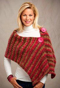 Get your easy knitted shawl pattern here! - Knitting Daily - Blogs - Knitting Daily
