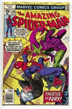 Amazing Spider Man 179 Marvel 1978 NM Green Goblin Daredevil Twinkies Ad