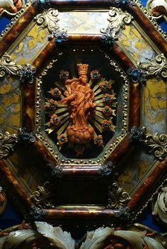 Torino, Palazzo Madama, Ausstellung Rosso Corallo, Madonna (Madama Palace, Exhibition Red Coral, Virgin Mary)