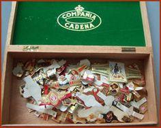 sigarenbandjes sparen, vooral die hele grote van Hofnar, die lagen onder in een volle doos.