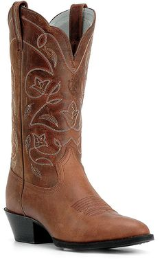 Ariat® Ladies Russet Heritage R-Toe Western Boots | Cavender's Boot City $150