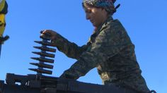 An all-female unit in the Kurdish armed forces takes on ISIS in Syria.  CNN's Ben Wedeman reports.