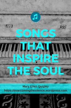 Songs that inspire the soul - How finding private praise and worship time improved my day. #praiseandworship #music #Godtime #inspire