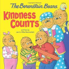 The Berenstain Bears: Kindness Counts (Berenstain Bears/Living Lights) by Jan Berenstain http://smile.amazon.com/dp/0310712572/ref=cm_sw_r_pi_dp_045Zvb01P5K9D