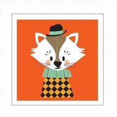 Darling Clementine Wenskaart dubbel Mr. Aristo de kat