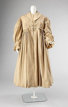 Coat 1905, American, Made of wool and silk
