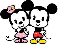 PNG de Mickey y Minnie by NatTribute