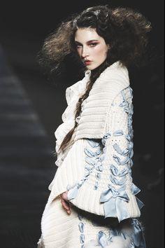 Jacquelyn Jablonski at Christian Dior . . . Fall/Winter 2010