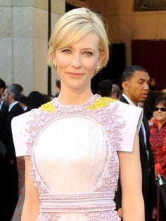 kate blanchett short hair | Oscars '11: Three of the best short hairstyles