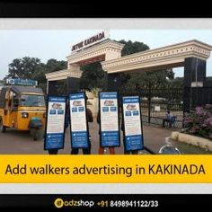 adzahop-innovative advertising look walkers,ad walkers,I walkers in KAKINADA Andhra pradesh.