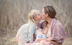 POSE- I need to capture a Nursing + kissing older sibling shot- **baby on opposite breast